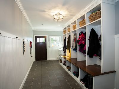 Services Millwork Mudroom
