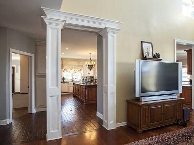 Services Millwork Entry